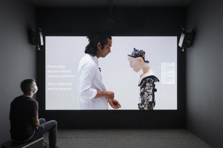 """""""Real Feelings, emotion and technology"""", HeK (House of electronic Arts Basel), Swiss"""