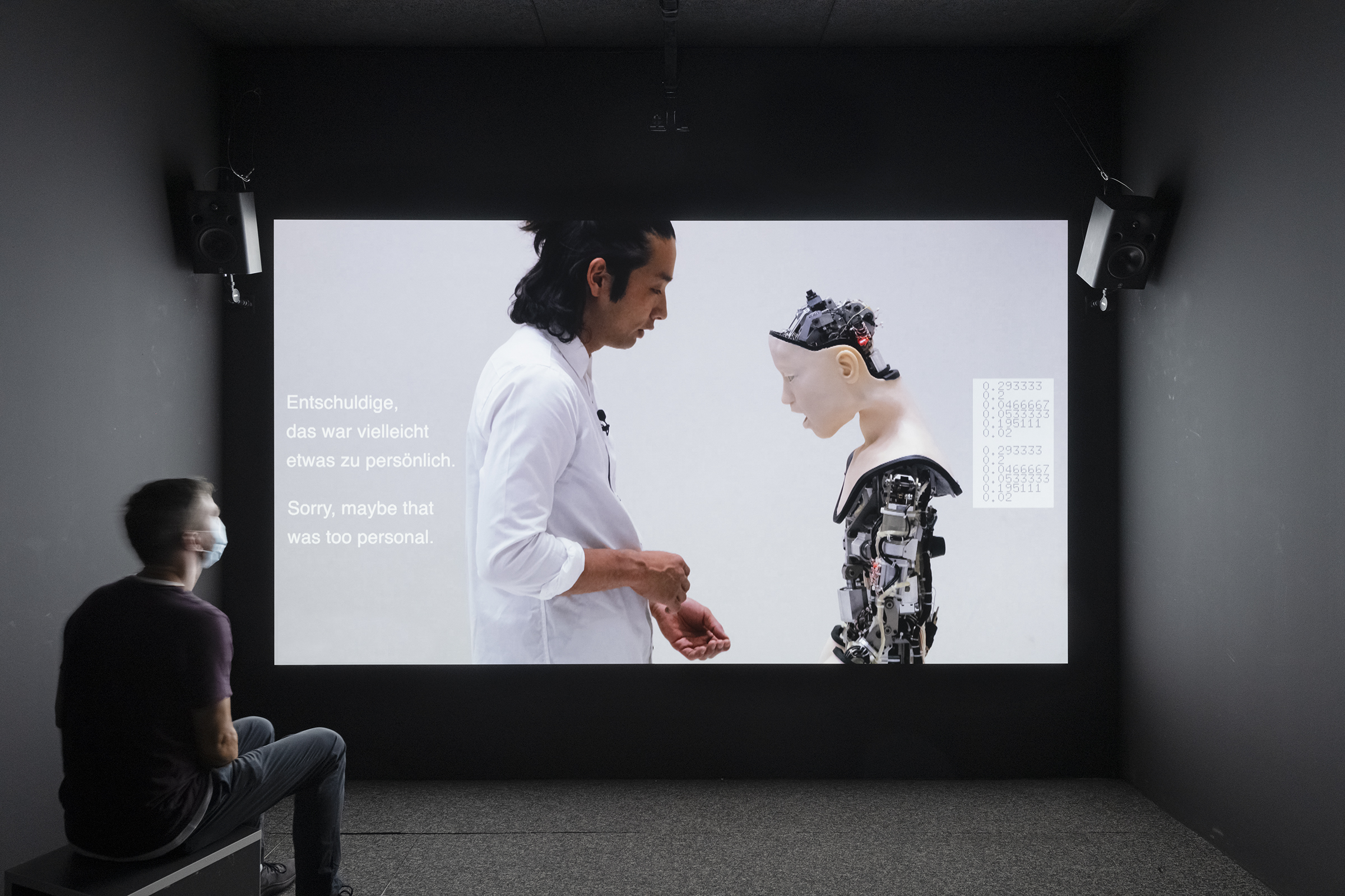 """Real Feelings, emotion and technology"", HeK (House of electronic Arts Basel), Swiss"
