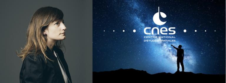 Lauréate Nuit Blanche 2021 avec le CNES